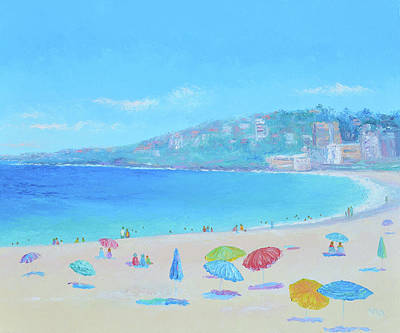 Painting - Coogee Beach Day by Jan Matson