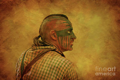 Digital Art - Cook Forest Encampment Portrait by Randy Steele