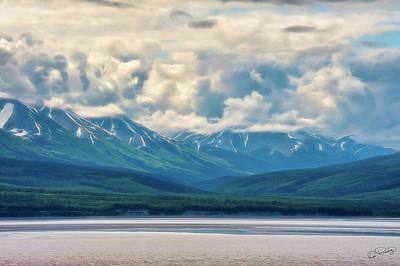 Photograph - Cook Inlet Alaska by Dee Browning
