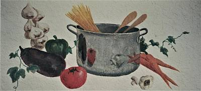 Painting - Cook Of The House by Suzn Art Memorial