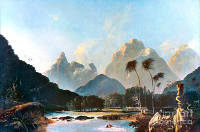 Painting - Cook: Tahiti, 1773 by Granger