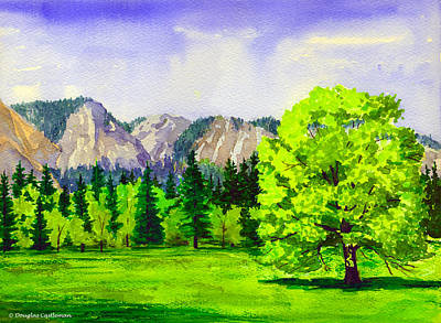 Painting - Cooke's Meadow Yosemite by Douglas Castleman
