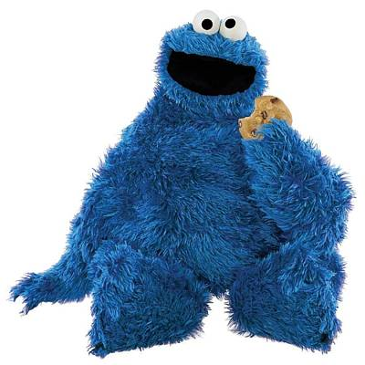 Photograph - Cookie Monster by Sesame Street