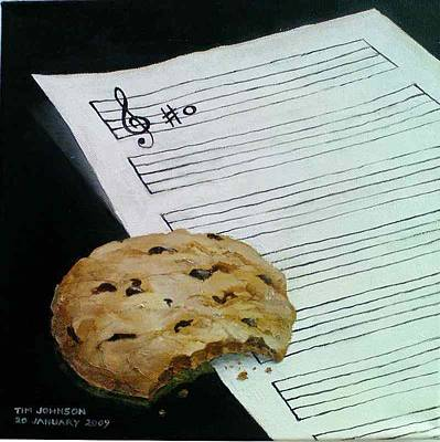 Painting - Cookie by Tim Johnson