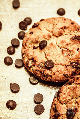 Chocolate Photograph - Cookies With Chocolare Chips by Jorgo Photography - Wall Art Gallery