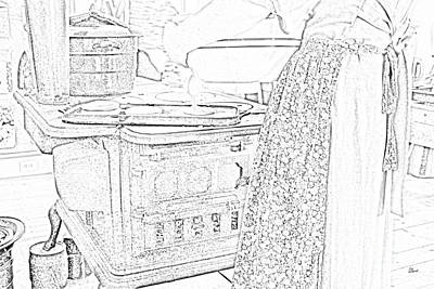 Photograph - Cooking On A Wood Stove by Alana Ranney