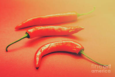 Stem Photograph - Cooking Pepper Ingredient by Jorgo Photography - Wall Art Gallery