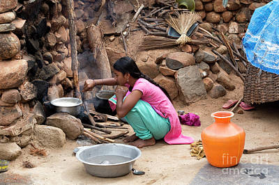 Photograph - Cooking Rice by Tim Gainey