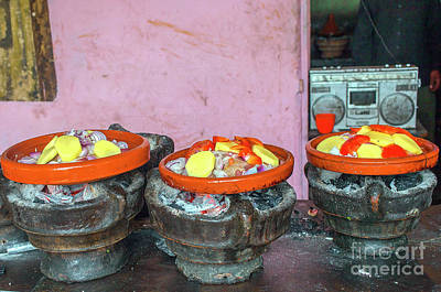 Photograph - Cooking Tajine On Coal  by Patricia Hofmeester