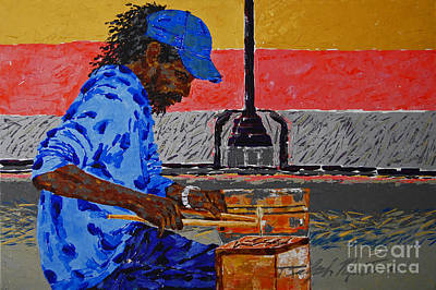 Painting - Cooking Up Some Smooth Jazz by Art Mantia