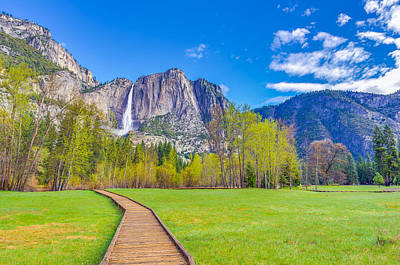 Art Print featuring the photograph Cook's Meadow Yosemite National Park by Scott McGuire