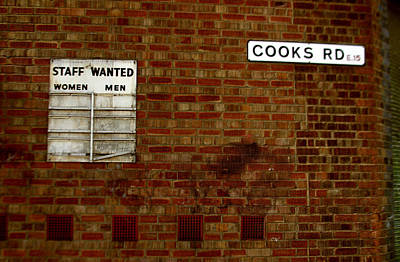 Cooks Wanted Art Print by Jez C Self