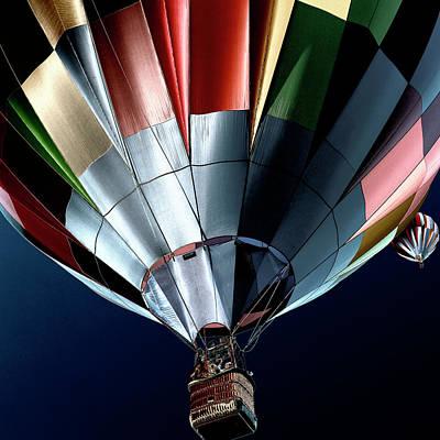 Thermal Digital Art - Cool Air Balloons by David Patterson