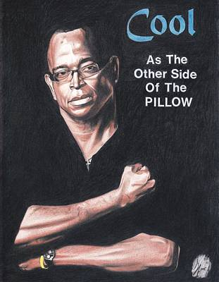 Espn Drawing - Cool As The Other Side Of The Pillow by Gary White