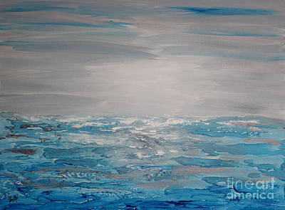 Painting - Cool Blue by Preethi Mathialagan