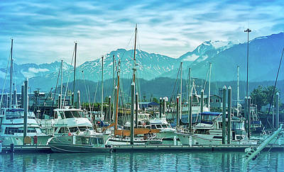 Photograph - Cool Blue Seward Alaska 2 by Aimee L Maher Photography and Art Visit ALMGallerydotcom