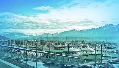 Photograph - Cool Blue Seward Alaska by Aimee L Maher ALM GALLERY