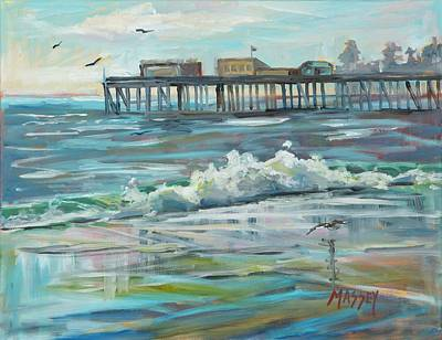Painting - Cool Breeze Ocean by Marie Massey