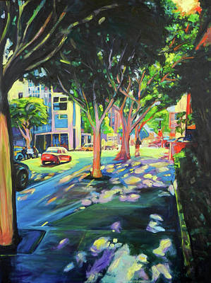 Painting - Cool Canopy by Bonnie Lambert