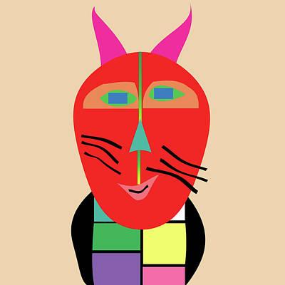 Digital Art - Cool Cat by Bill Owen