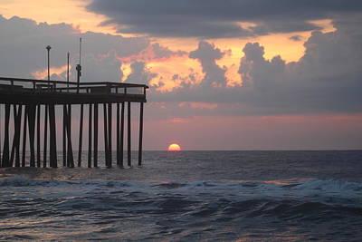 Photograph - Cool Cloudy Sunrise by Robert Banach