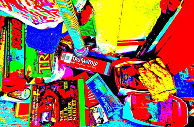 Photograph - Cool Clutter 47 by George Ramos