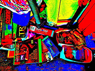 Photograph - Cool Clutter 48 by George Ramos