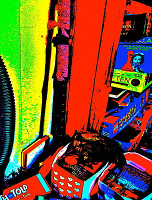 Photograph - Cool Clutter 51 by George Ramos