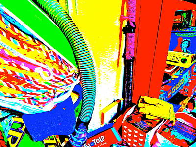 Photograph - Cool Clutter 53 by George Ramos