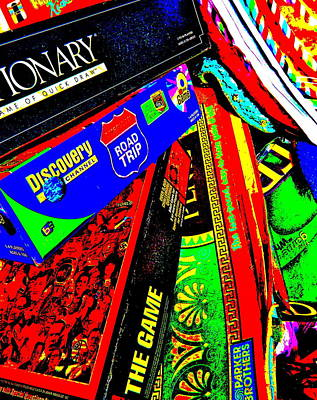 Photograph - Cool Clutter 57 by George Ramos