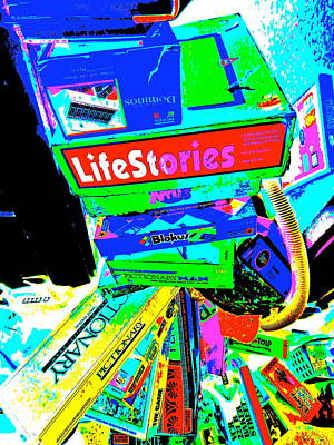 Photograph - Cool Clutter 60 by George Ramos