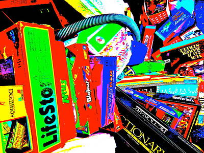 Photograph - Cool Clutter 61 by George Ramos