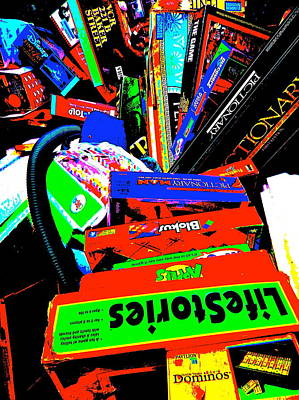 Photograph - Cool Clutter 64 by George Ramos