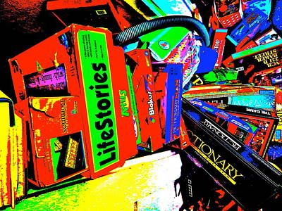 Photograph - Cool Clutter 65 by George Ramos