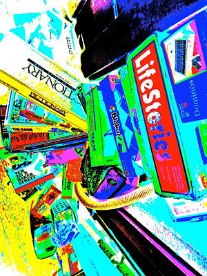 Photograph - Cool Clutter 66 by George Ramos