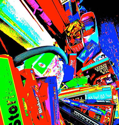 Photograph - Cool Clutter 67 by George Ramos