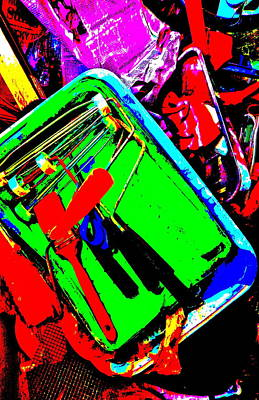Photograph - Cool Clutter 71 by George Ramos