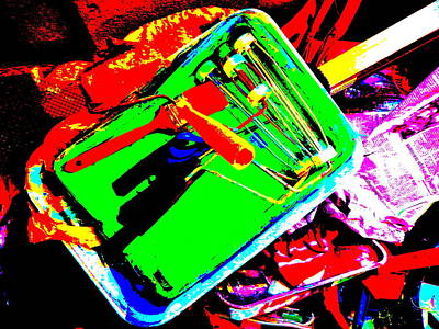 Photograph - Cool Clutter 73 by George Ramos