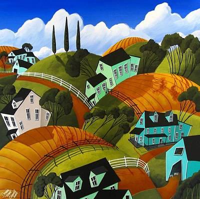 Cool Country Print by Debbie Criswell