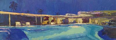 Painting - Cool Dip by Kathleen Strukoff