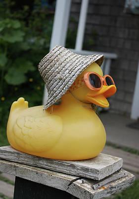 Cool Ducky Art Print