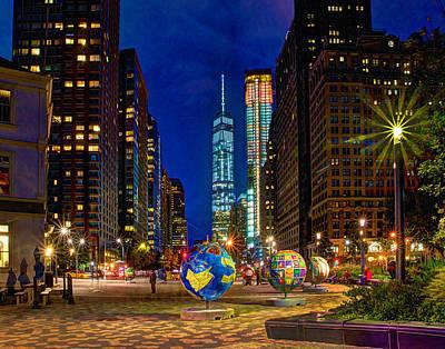 Photograph - Cool Globes by Jeff Stallard