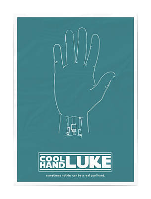 Cool Hand Luke Art Print