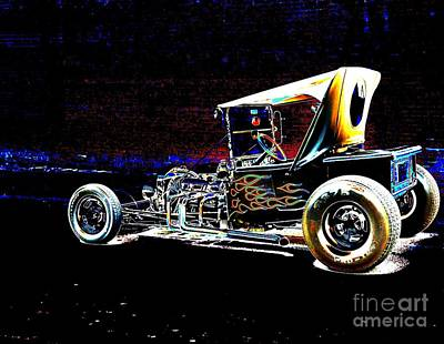 Digital Art - Cool Hot Rod by AZ Creative Visions