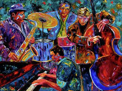 Painting - Cool Jazz by Debra Hurd