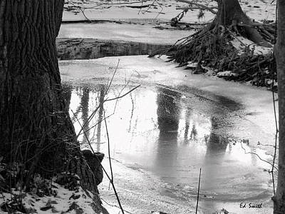 Indiana Winters Digital Art - Cool Pool by Ed Smith