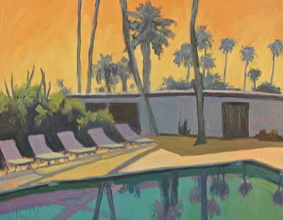 Painting - Cool Reflections by Kathleen Strukoff