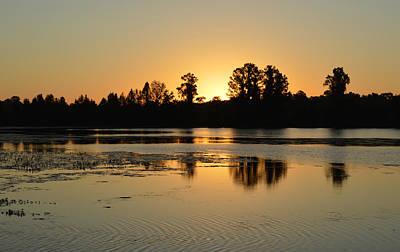 Photograph - Cool September Sunrise by rd Erickson