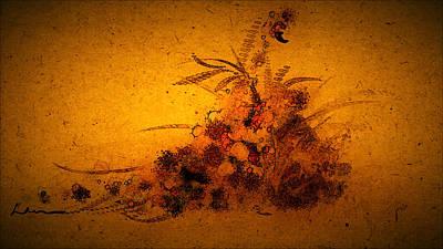 Garden Scene Mixed Media - Cool Sketch 67 by Len YewHeng