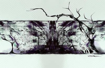 Cool Sketch 98 Art Print